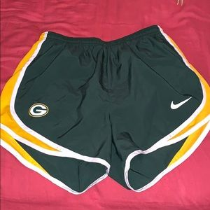 Green Bay Packers Shorts SZ Sml